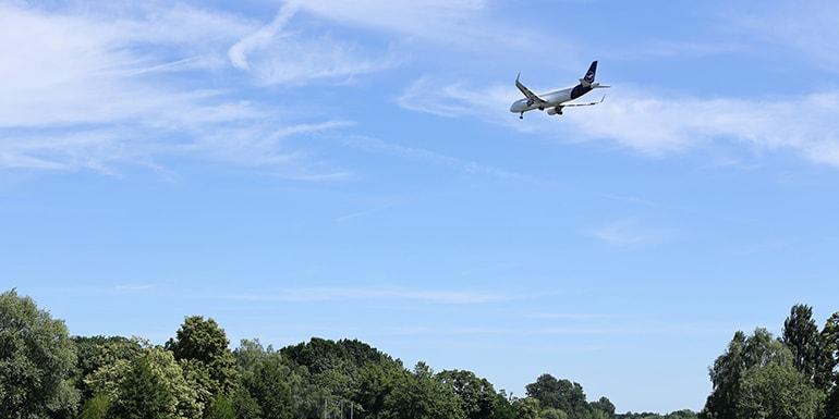 Chartering A Plane: Optimizing Air Travel While Reducing Carbon Footprint | Photo by Sebastian Herrmann on Unsplash