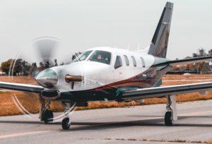 Business Jet TBM aircraft rental charter by Skylark Aviation Expert